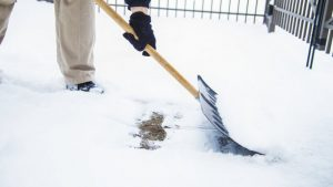 shoveling snow, snow removal